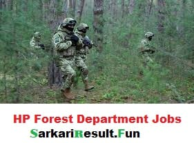 latest recruitment in HP Forest Department