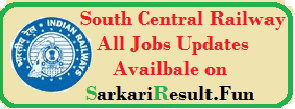 latest recruitment in south central railway