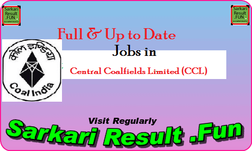 Latest Jobs in CCL